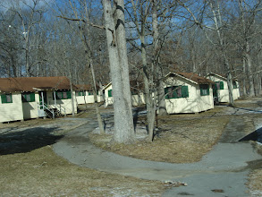Photo: Cottages near the Visitor's Center