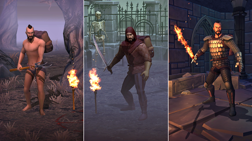 Grim Soul: Dark Fantasy Survival apkpoly screenshots 9