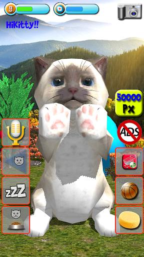 Talking Kittens virtual cat that speaks, take care apklade screenshots 1