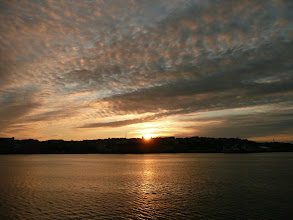 Photo: Sunset in Kristiansund