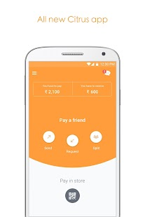 Citrus: Money Transfer via UPI- screenshot thumbnail