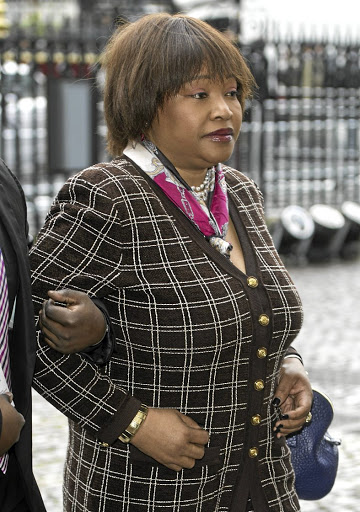 Zindzi Mandela's Twitter rant has been slammed by AfriForum./Supplied