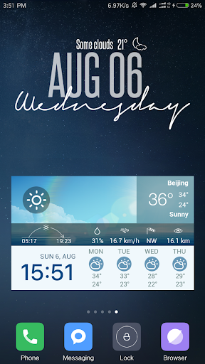 Screenshot for XWidget Pro in United States Play Store