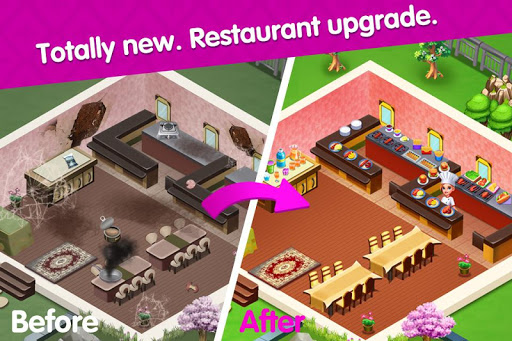 Cooking Square Food Street modavailable screenshots 2