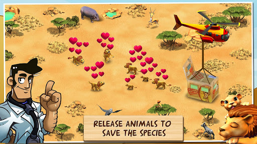 Wonder Zoo - Animal rescue ! screenshot 2