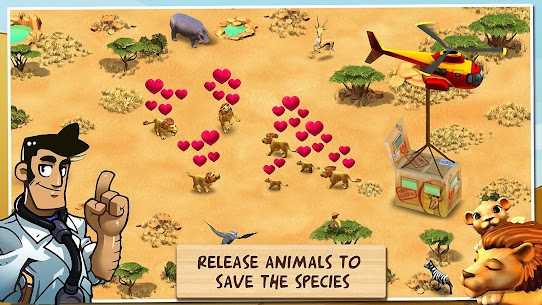 Wonder Zoo – Animal rescue ! 2.1.0f Mod + Data for Android 2