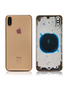 iPhone XS Max Housing without small parts HQ Gold