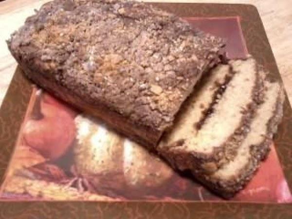 Pumpkin Cinnamon Swirl Bread W/crunchy Pretzel Top Recipe