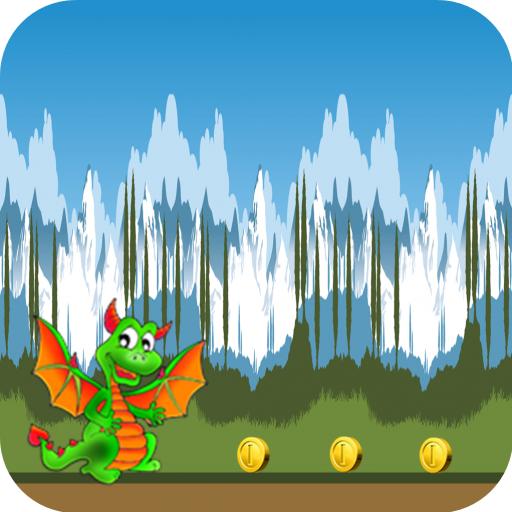 Dragon Cartoon Games To Land