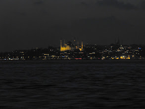Photo: Day 126 -  The Istanbul Skyline On the Way Back from the Islands