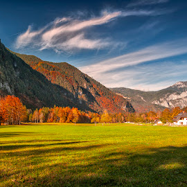 Logarska Valley by Stanley P. - Landscapes Mountains & Hills