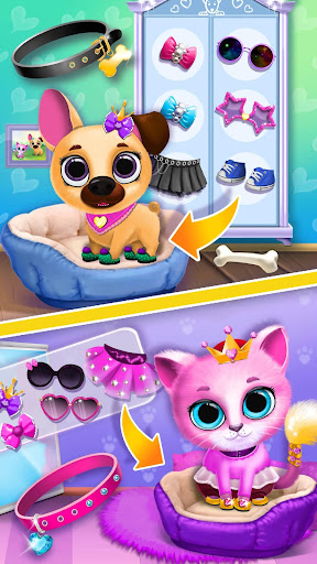 Kiki & Fifi Pet Friends - Furry Kitty & Puppy Care  {cheat|hack|gameplay|apk mod|resources generator} 5