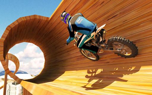 Racing on Bike Free Screenshot