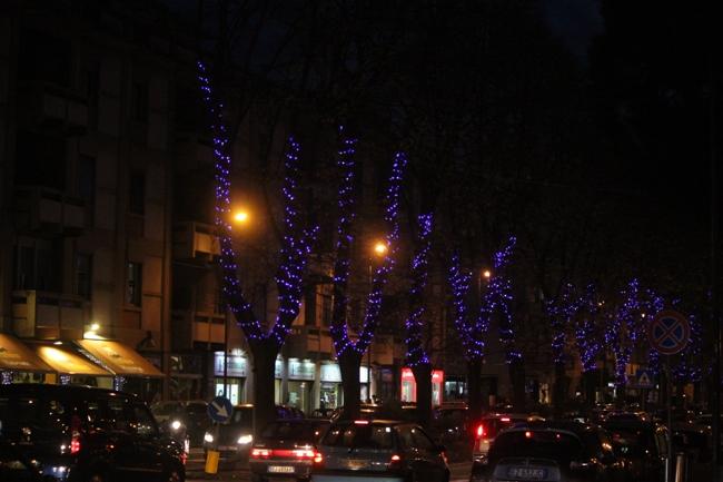 Addobbi natalizi in città di TexWiller