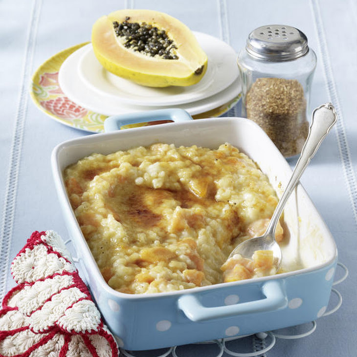 Caramelized Papaya Rice Pudding Recipe | Yummly