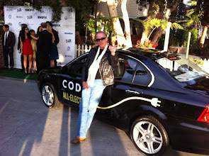 Photo: Peter Fonda looking very cool with the CODA.