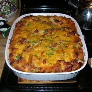 Ham Egg Cheese Breakfast Casserole Recipes