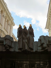 Photo: Three Muses at the Vilnuis Theater
