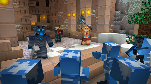 Hide and Seek -minecraft style screenshot 12