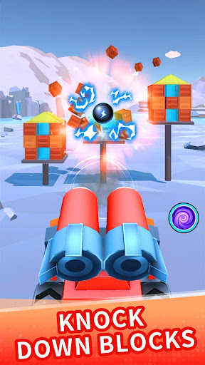 Color ball blast:merge tank and knock down blocks ss3