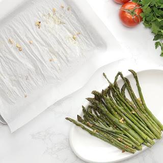 Garlic Roasted Asparagus Recipe