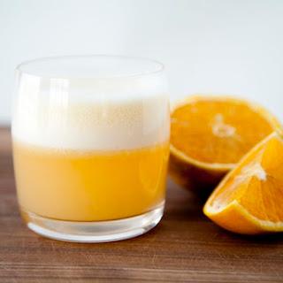 Orange Gin Fizz.