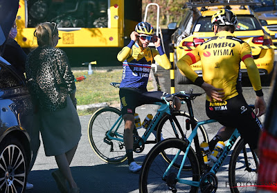 """Gele trui Roglic verwacht spanning tot op La Planche des Belles Filles: """"Het gaat niet enkel om Tom Dumoulin of mij"""""""