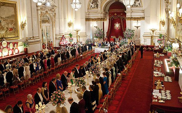 The secrets of Buckingham Palace's Royal receptions - Telegraph