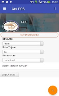 Cek POS Indonesia- screenshot thumbnail