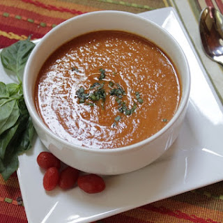 Tomato Coconut Curry Soup