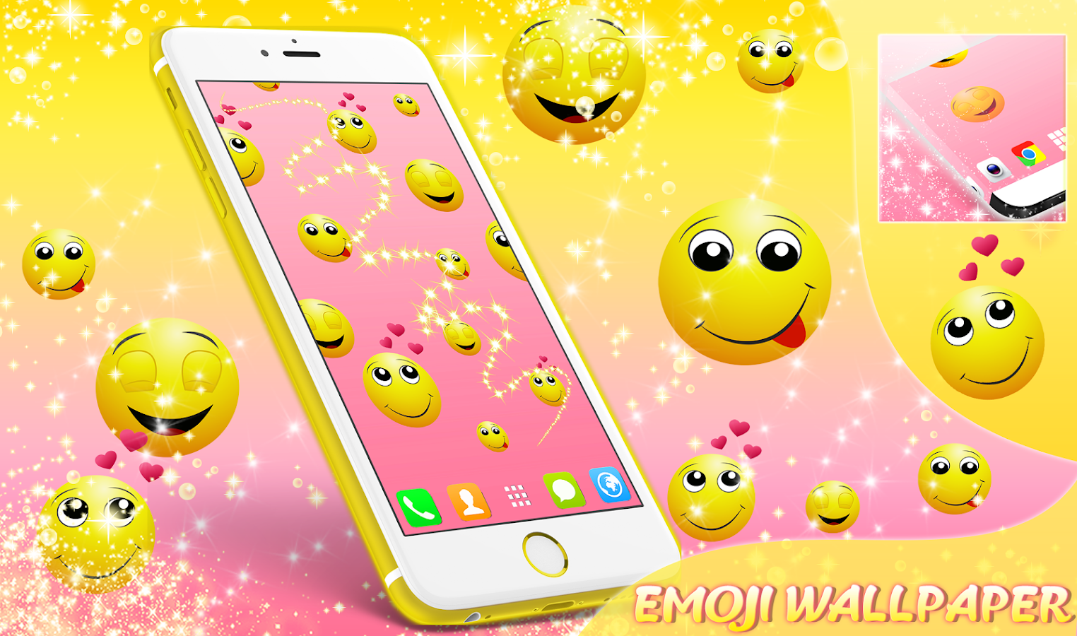 Emoji Live Wallpaper- screenshot