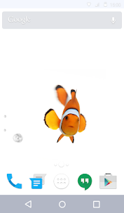 Clown Fish Live Wallpaper- screenshot thumbnail