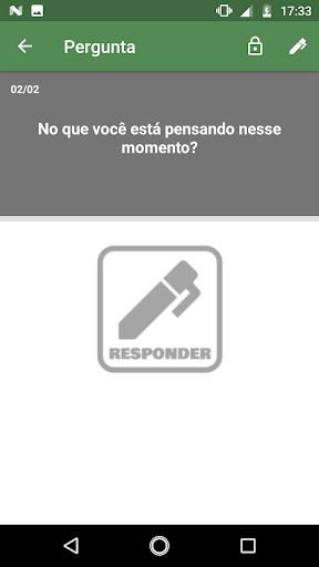 Foto do Diário de Perguntas