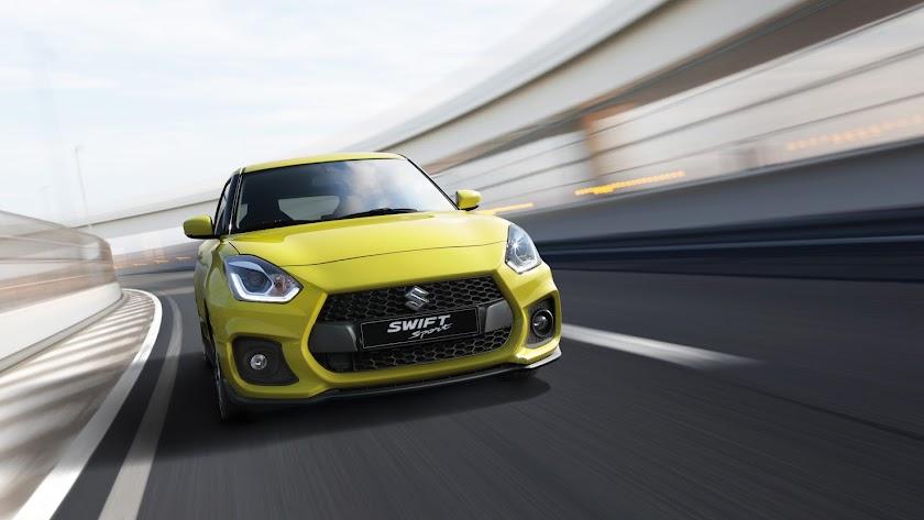 Se presenta el nuevo  Suzuki Swift Sport más ligero y rápido