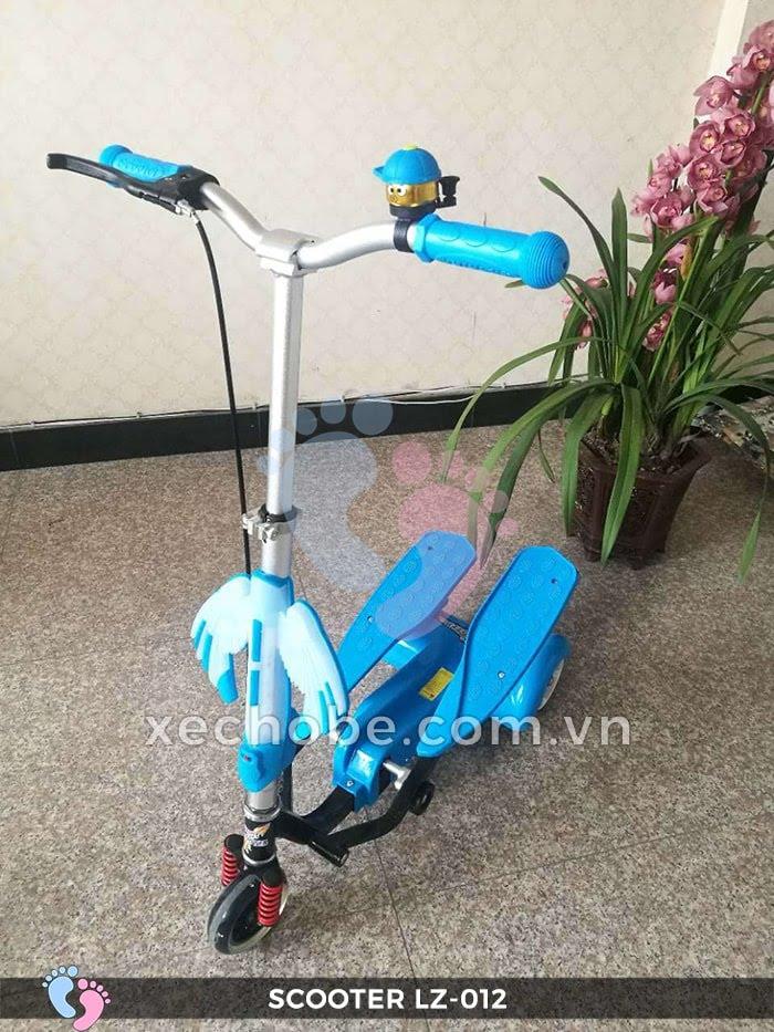 Xe trượt Scooter đạp chân LZ-012 có đèn, nhạc 6