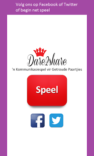 Dare2Share Afrikaans