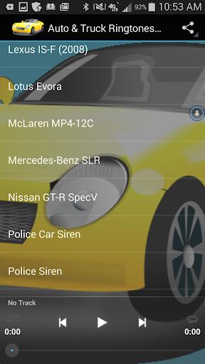 玩免費交通運輸APP|下載Auto & Truck Ringtones Sounds app不用錢|硬是要APP
