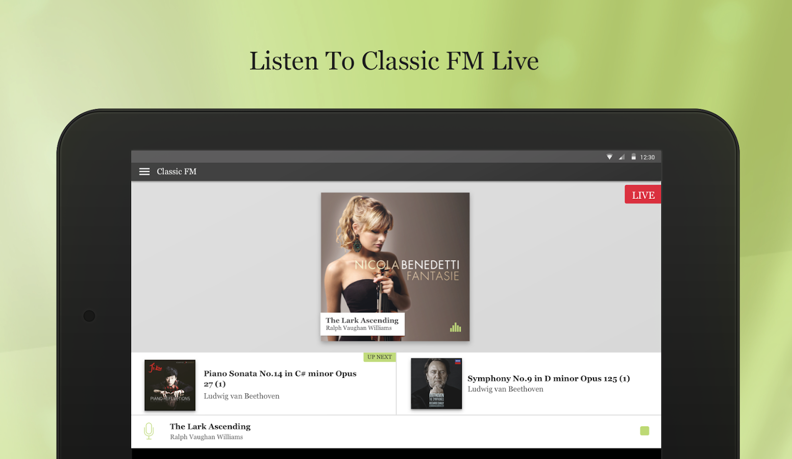 Classic FM Radio App- screenshot