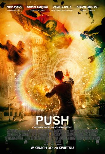Polski plakat filmu 'Push'