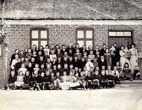 Photo: Rødding Skole 1905, Olav Nielsens billede