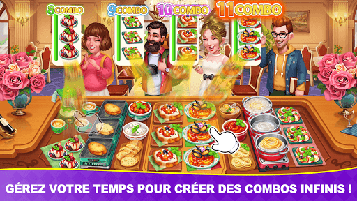 Télécharger Jeux culinaires Chef Toqué/Cooking Frenzy: Madness  APK MOD (Astuce) screenshots 5