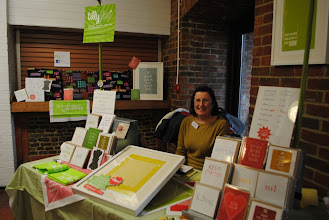 Photo: The wonderful miss Julie of Tillyflop Designs! So lovely to meet again!