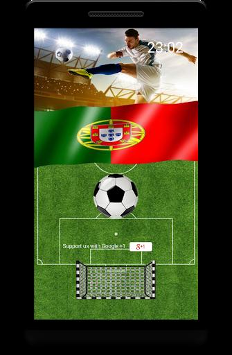 Futebol Portugal Lockscreen