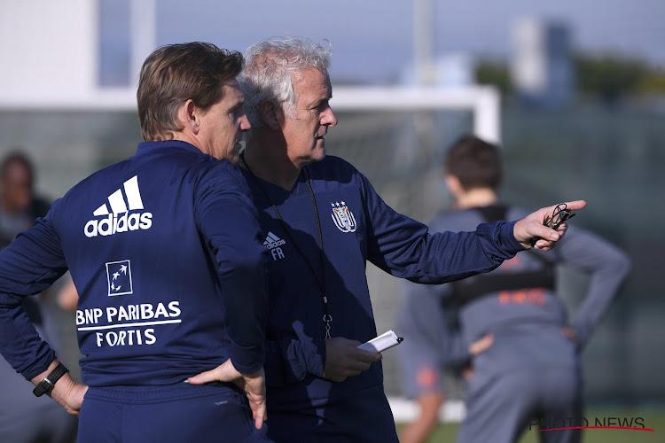 """Vertrokken keeperstrainer De Jong: """"Sinds Marc Coucke overnam, kijkt iedereen bij Anderlecht over zijn schouder"""""""