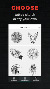 INKHUNTER - try tattoo designs: miniatura de captura de pantalla