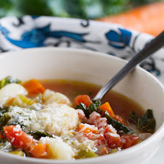 Minestrone Recipe with Gnocchi