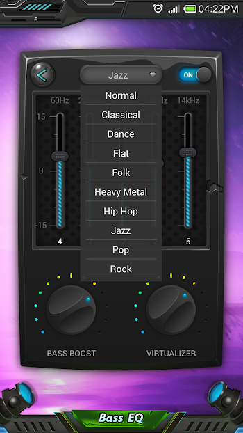 Equalizer & Bass Booster Pro- screenshot