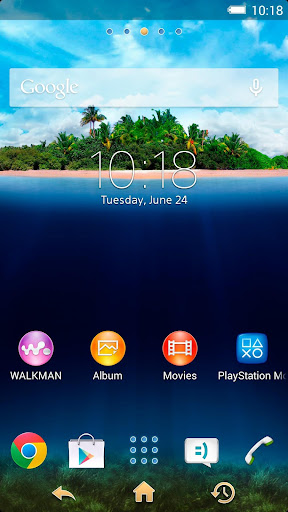 XPERIA™ Tropical