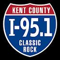 I-95.1 WWRI Kent County icon