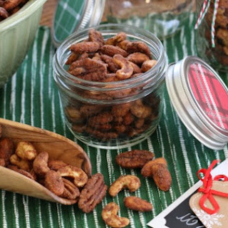 Spiced Holiday Nuts.